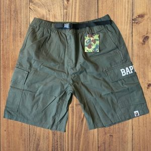 Bape cargo shorts